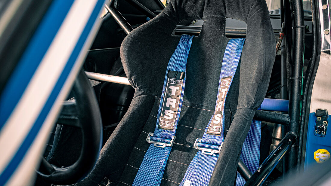 Ford Capri RS Gruppe 2, Interieur