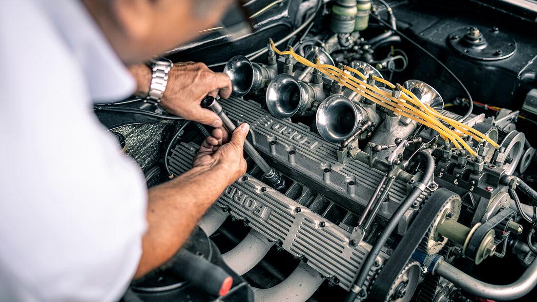 Ford Capri RS Gruppe 2, Motor