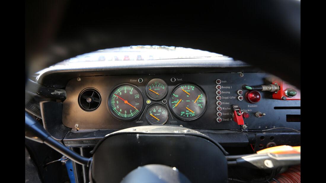 Ford Capri RS, Rundinstrumente