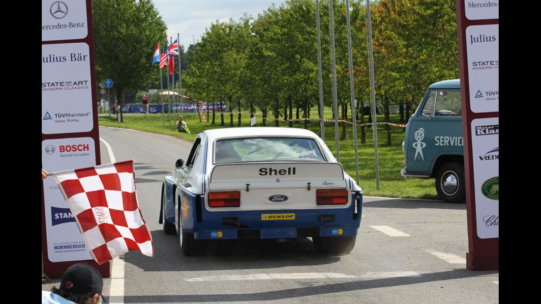 Ford Capri, RS3100, Start