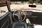 Ford Capri Serie 1, Lenkrad, Cockpit
