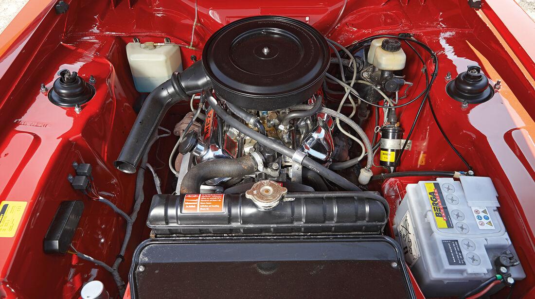 Ford Capri Serie 1, Motor