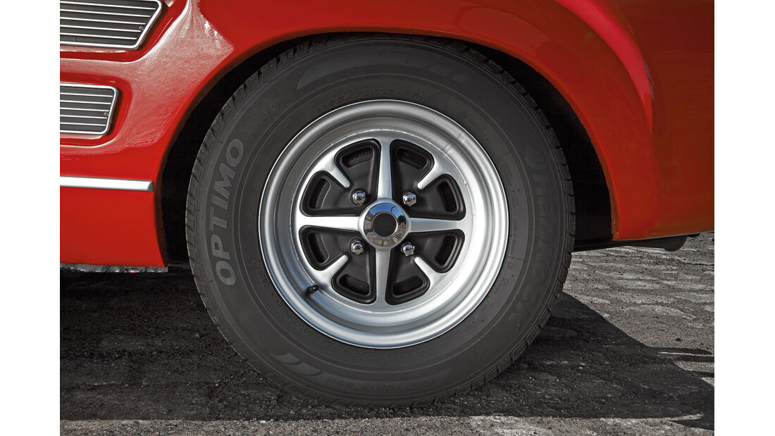 Ford Capri Serie 1, Rad, Felge