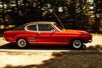 Ford Capri Serie 1, Seitenansicht