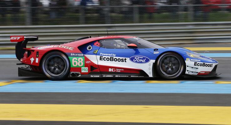 Ford Chip Ganassi Racing - Ford GT - 24h Le Mans Vortest - 2016