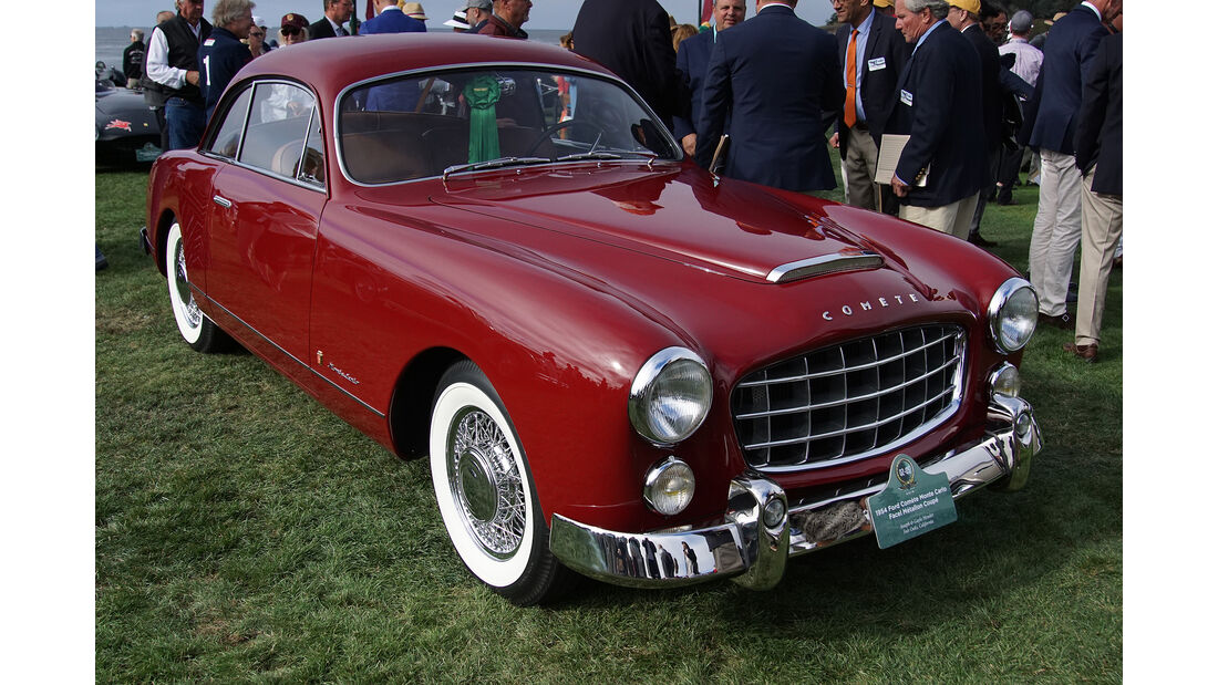 Ford Comète Monte Carlo Facel Métallon Coupé 1954