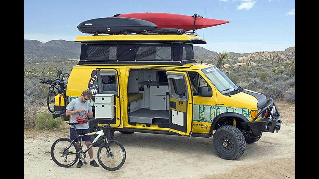 Ford E-Series 4x4 Sportsmobile Custom Camper