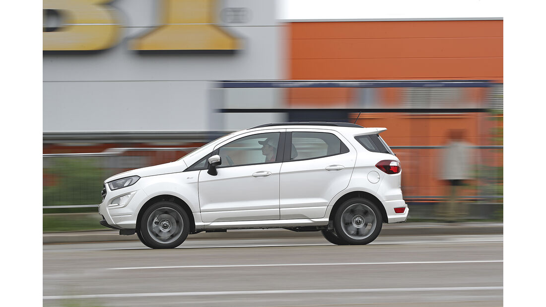 Ford Ecosport 1.0 Ecoboost, Exterieur