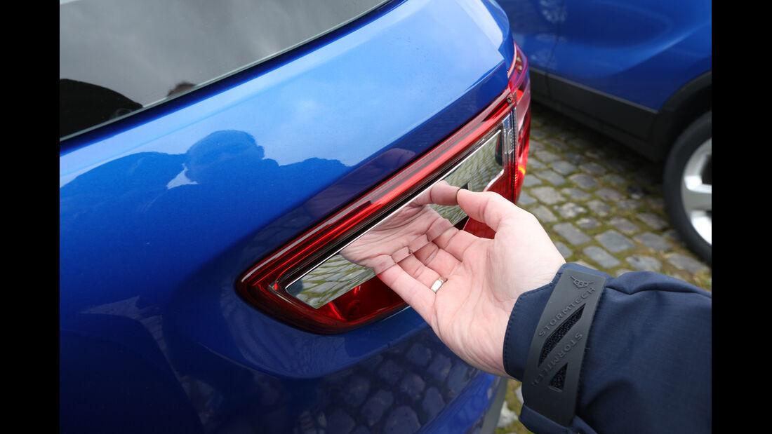 Ford Ecosport 1.0 Ecoboost, Heckklappe, Griff