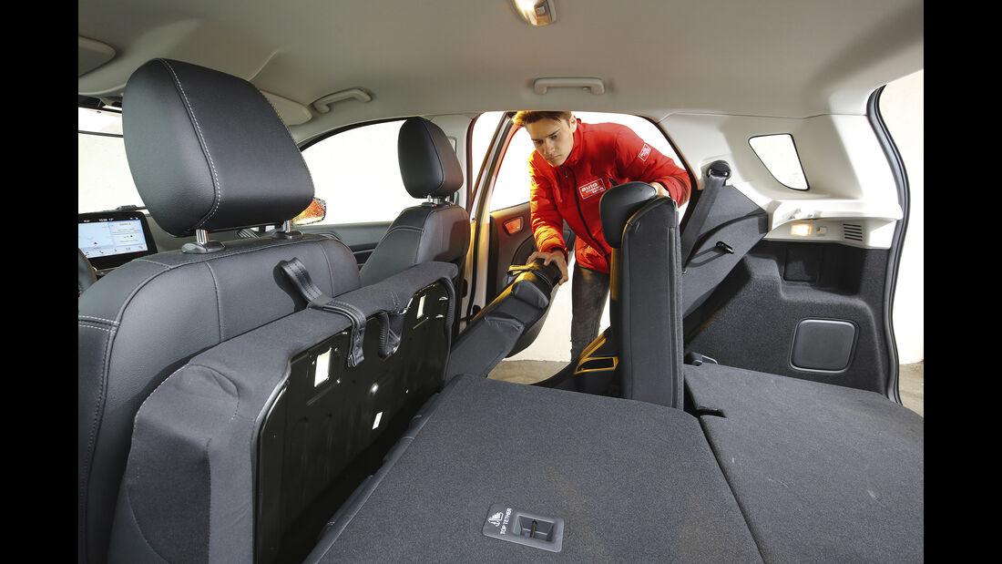 Ford Ecosport 1.0 Ecoboost, Kofferraum