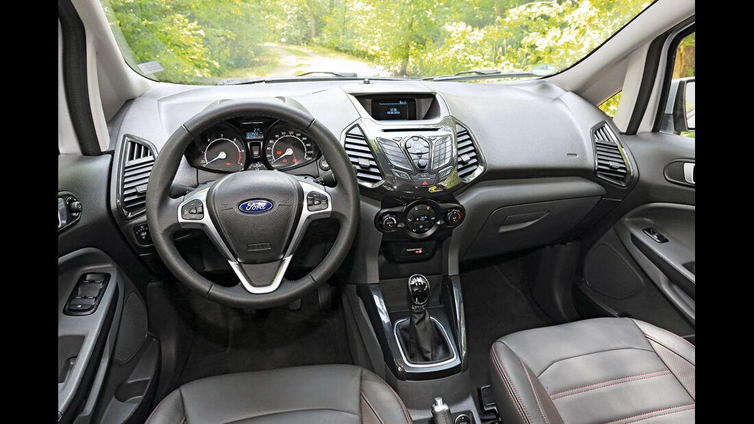 Ford Ecosport 1.5 TDCI, Cockpit
