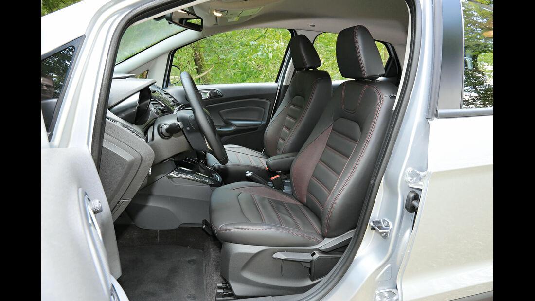 Ford Ecosport 1.5 TDCI, Fahrersitz