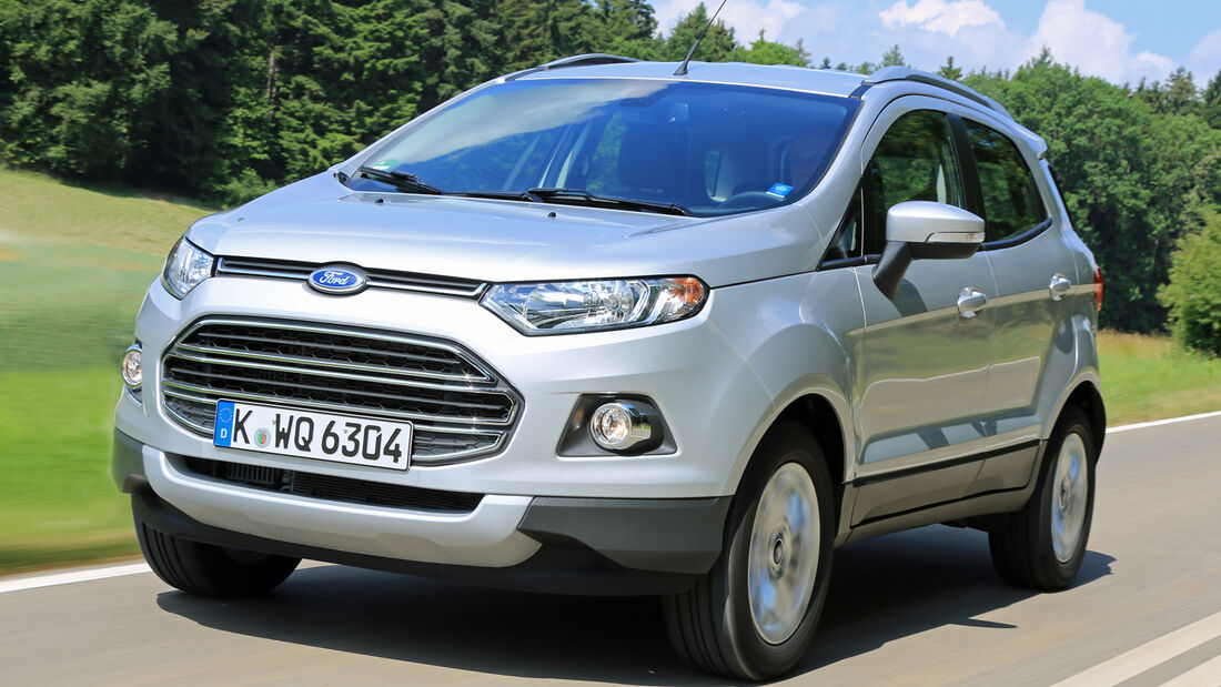 Ford Ecosport 1.5 TDCI, Frontansicht