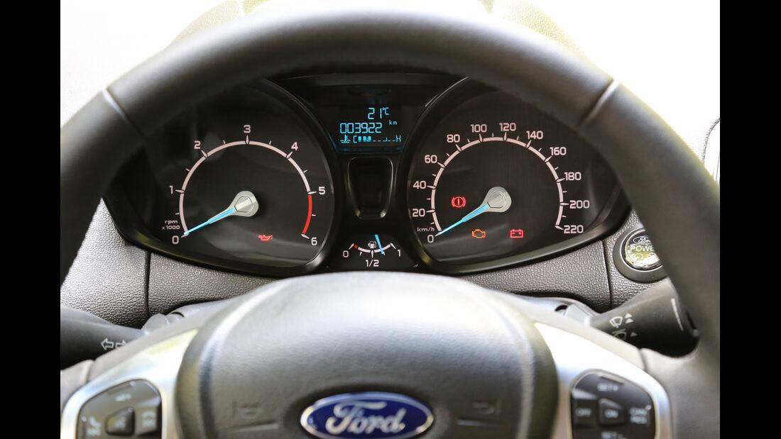 Ford Ecosport 1.5 TDCI, Rundinstrumente