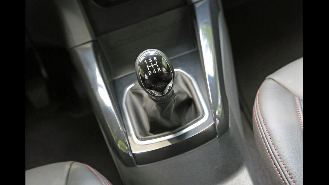 Ford Ecosport 1.5 TDCI, Schalthebel