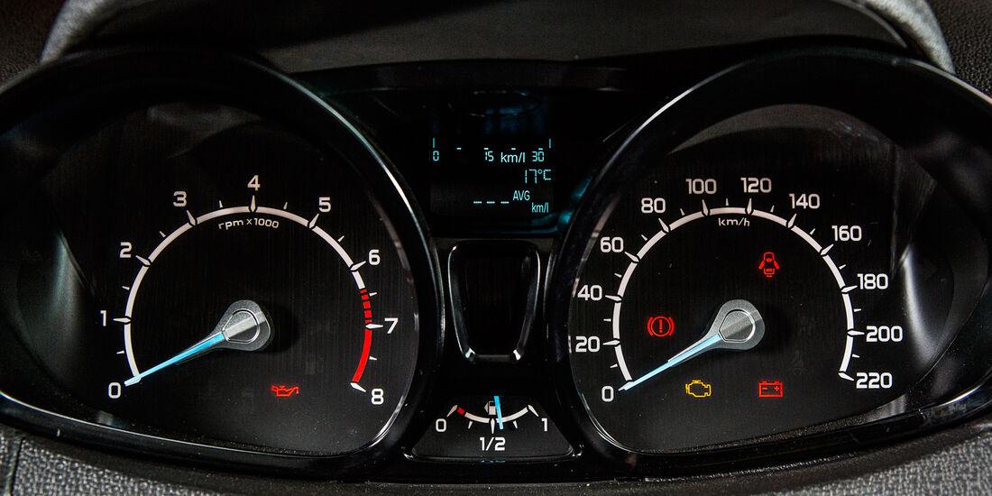 Ford Ecosport 2.0, Rundinstrumente