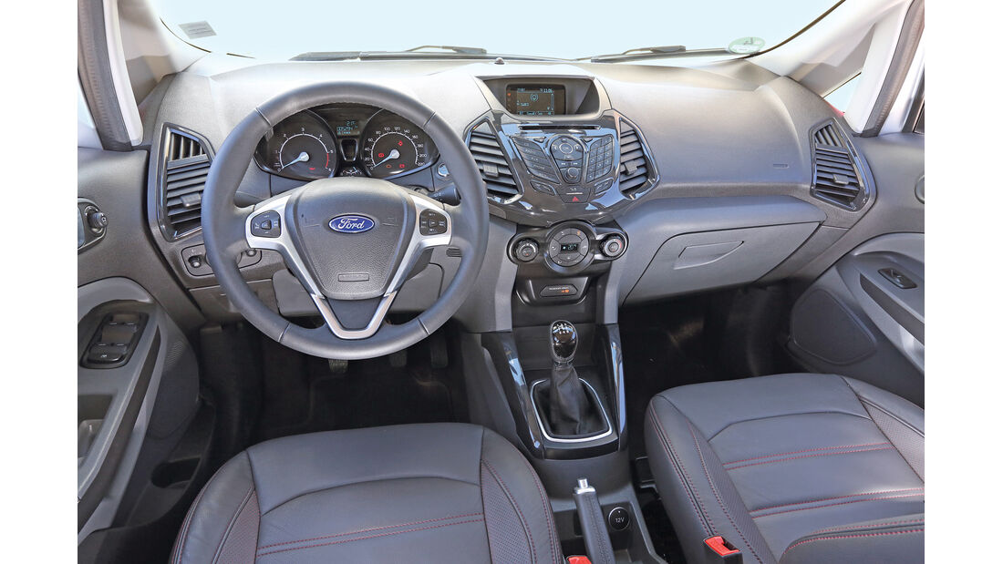 Ford Ecosport, Cockpit