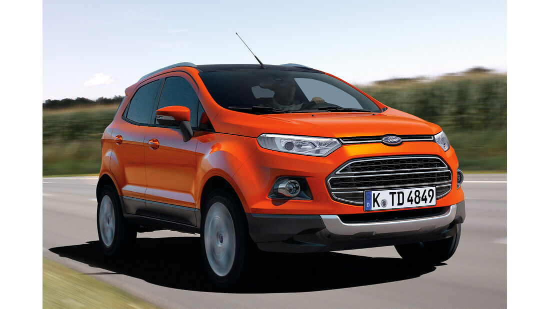 Ford Ecosport, Frontansicht