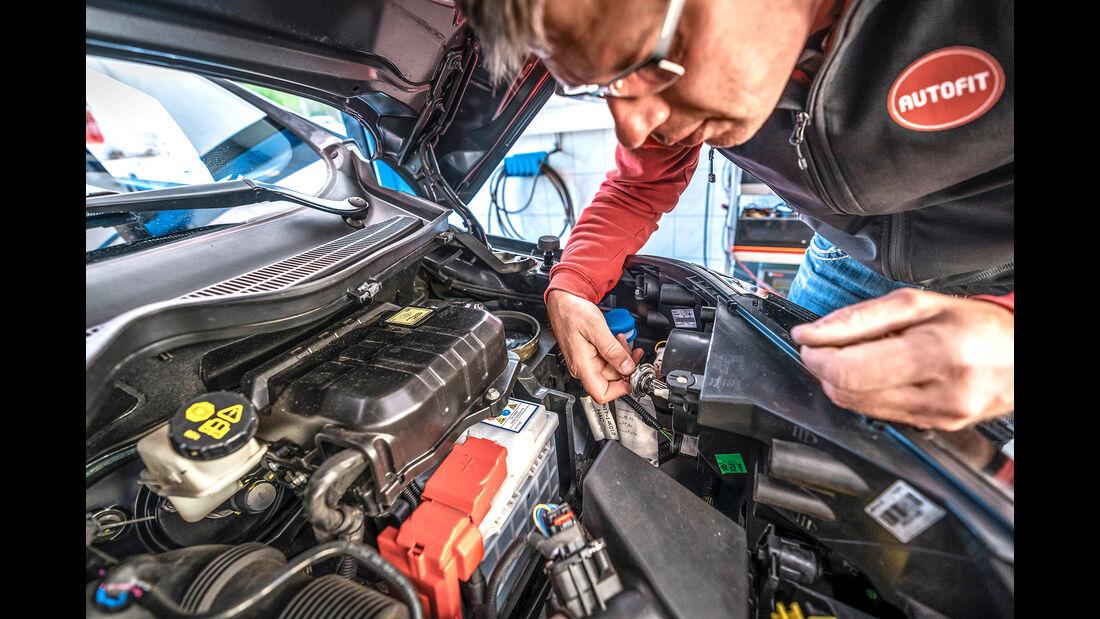 Ford Ecosport, Motorraum