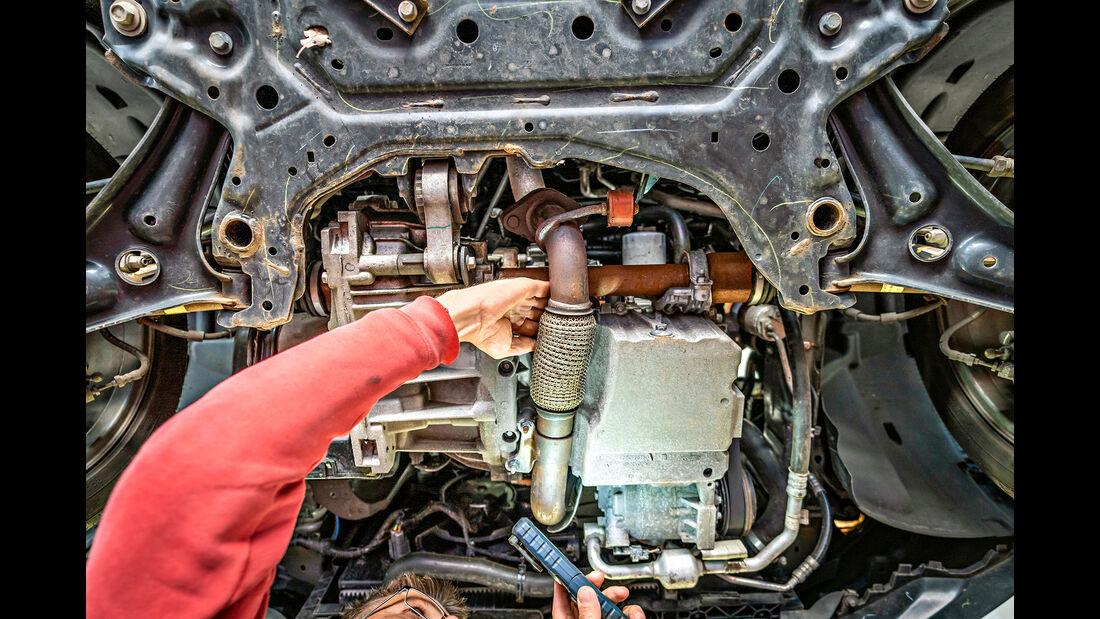 Ford Ecosport, Unterboden