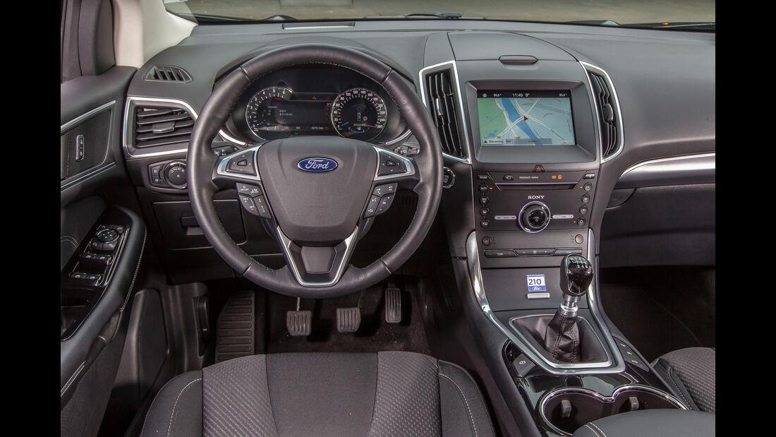 Ford Edge 2.0 TDCi 4x4, Cockpit