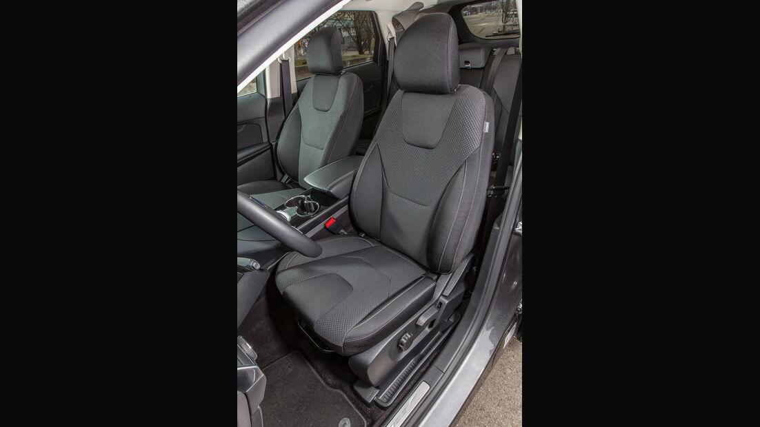 Ford Edge 2.0 TDCi 4x4, Fahrersitz