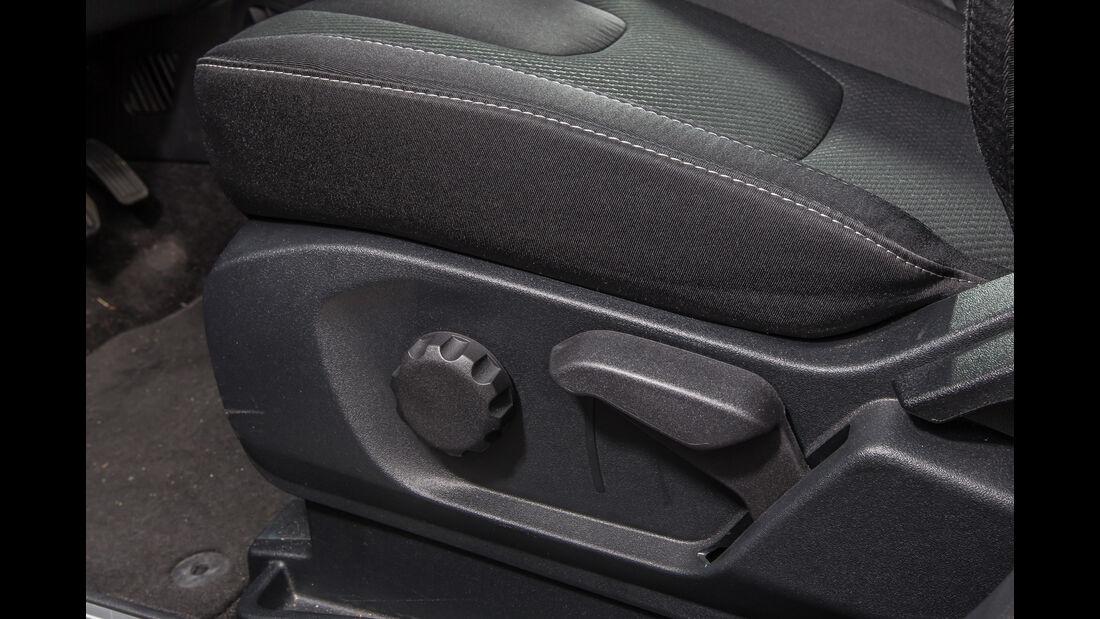 Ford Edge 2.0 TDCi 4x4, Sitzverstellung