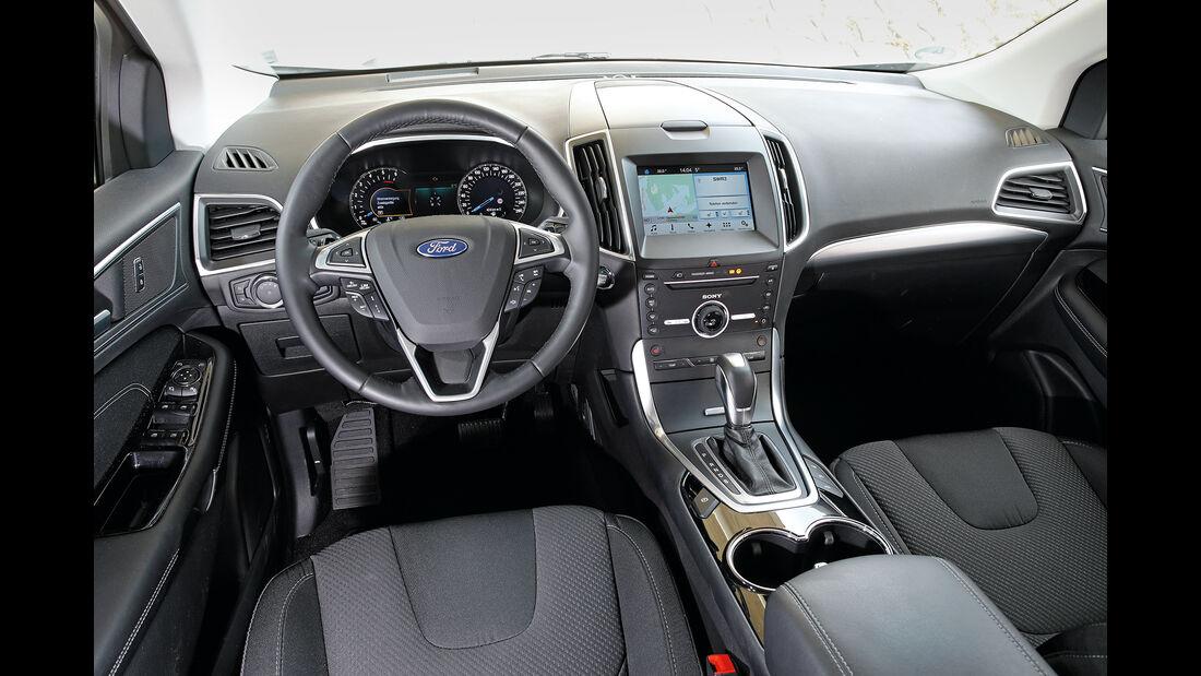 Ford Edge 2.0 TDCi Innenraum