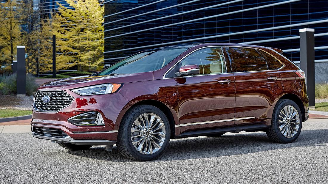 Ford Edge 2021 Modellpflege USA