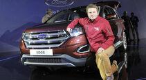 Ford Edge, SUV, Sitzprobe