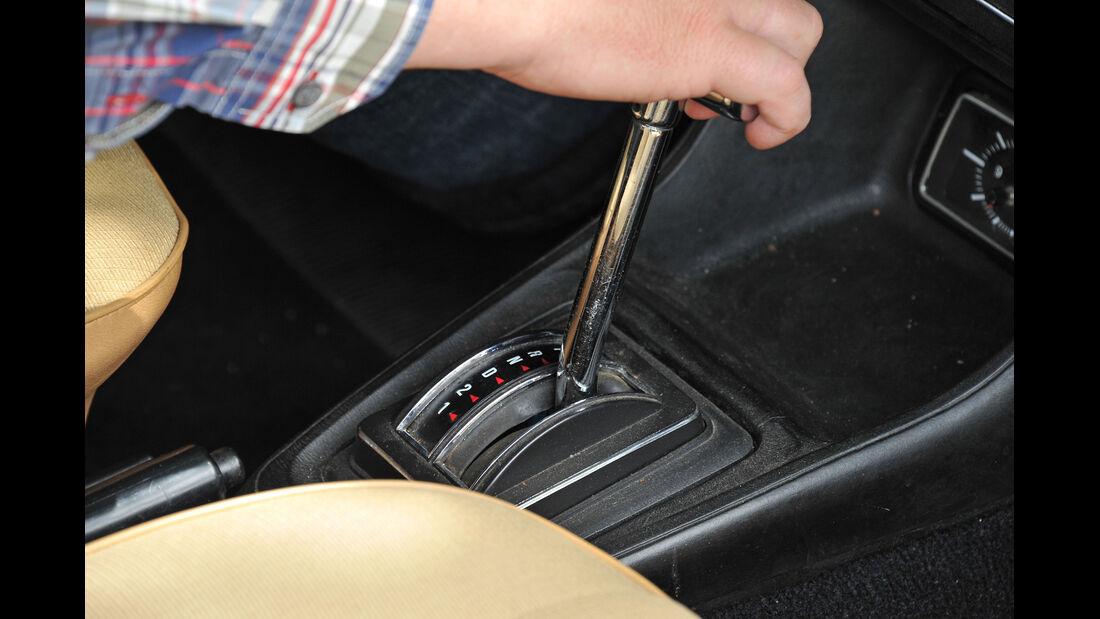 Ford Escort 1.3, Schalthebel