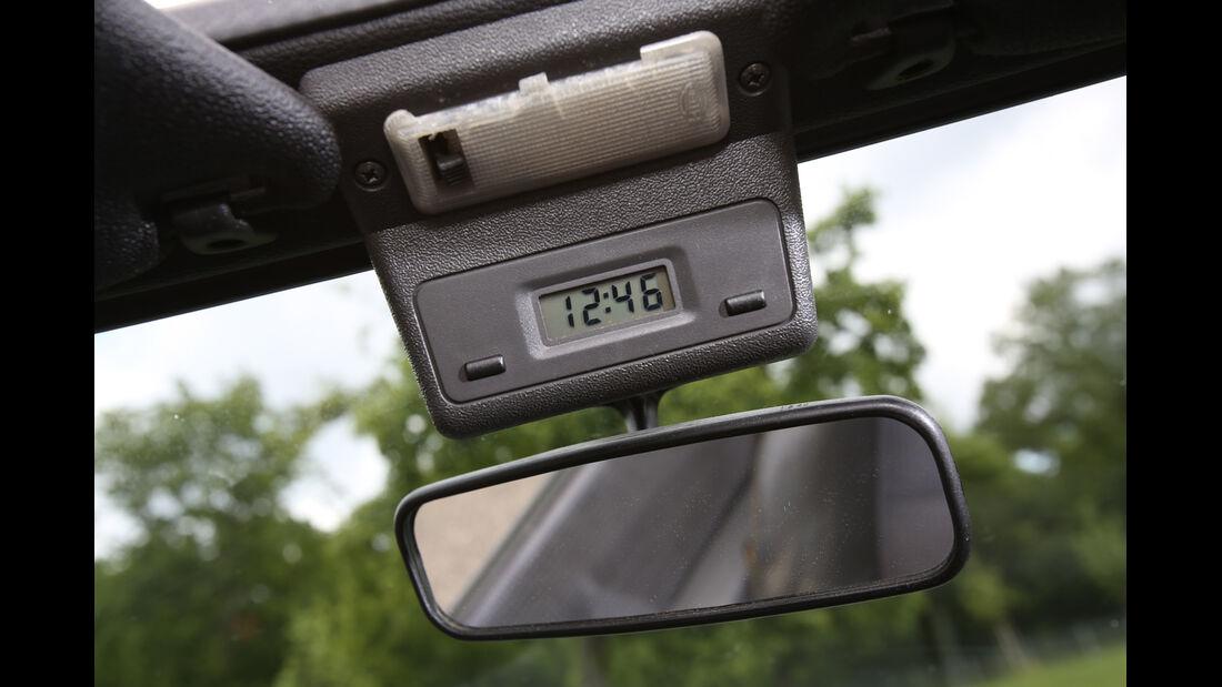 Ford Escort 1.6 XR3i Cabriolet, Rückspiegel