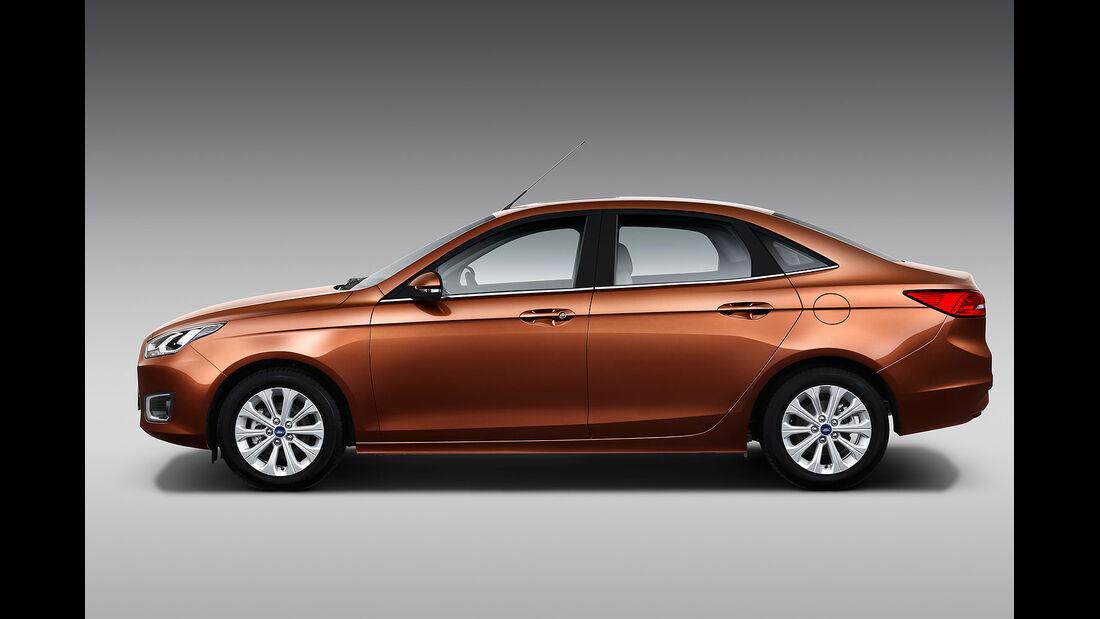 Ford Escort Auto China 2014