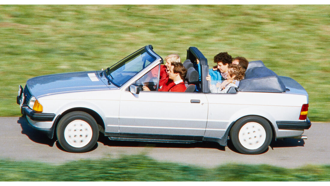 Ford Escort Cabrio 1.6i (1983)
