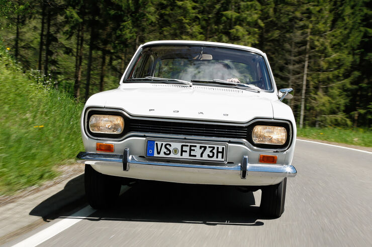 Ford Escort I, Frontansicht