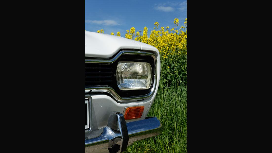 Ford Escort I, Frontscheinwerfer