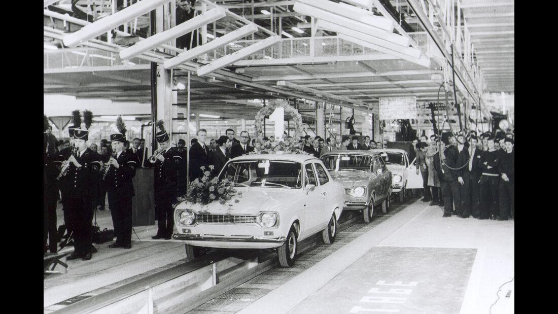 Ford Escort I Produktion Werk Saarlouis (1970)