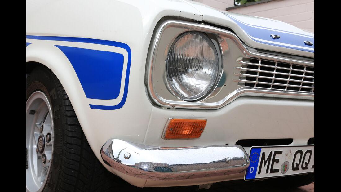 Ford Escort I RS 2000, Frontscheinwerfer