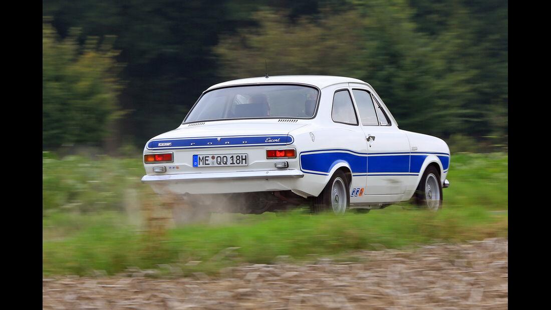 Ford Escort I RS 2000, Heckansicht