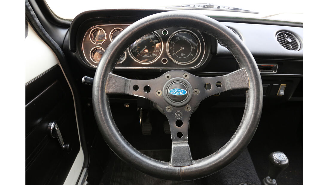 Ford Escort I RS 2000, Lenkrad