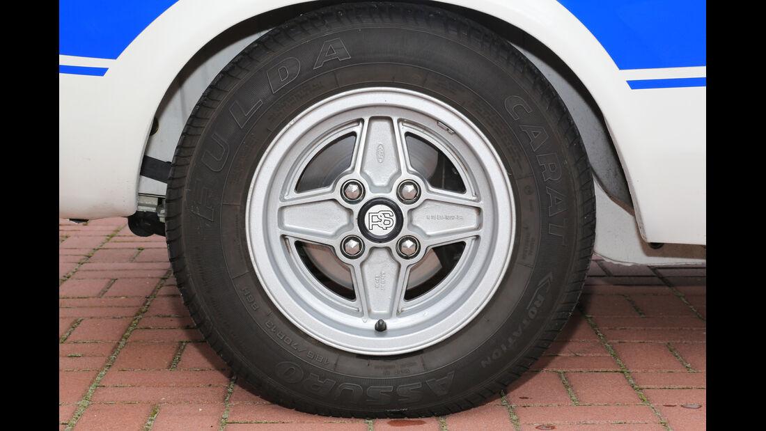 Ford Escort I RS 2000, Rad, Felge