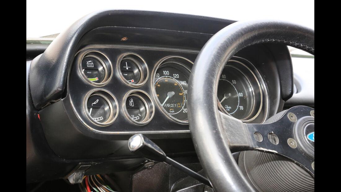 Ford Escort I RS 2000, Rundinstrumente