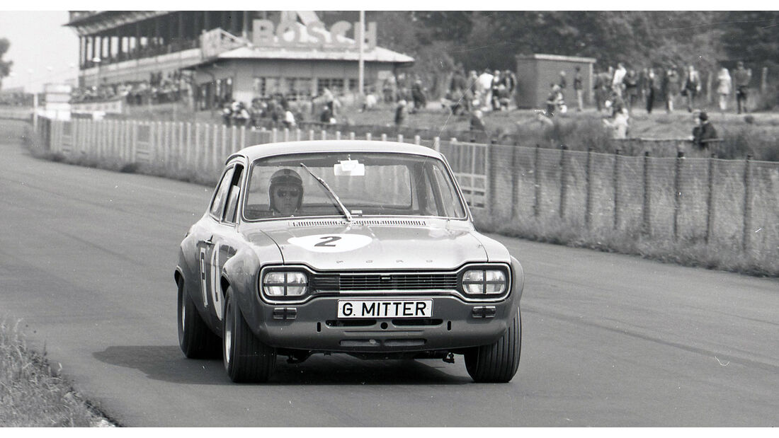Ford Escort M 1 500 km Nürburgring Gerd Mitter (1968)
