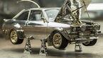 Ford Escort MK2 Schmuckstück Gold Silber Russell Lord Auktion
