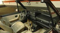 Ford Escort, Opel Kadett E und VW Golf I Cabriolets