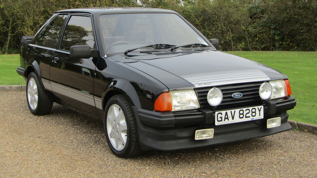 Ford Escort RS 1600i Auktion UK
