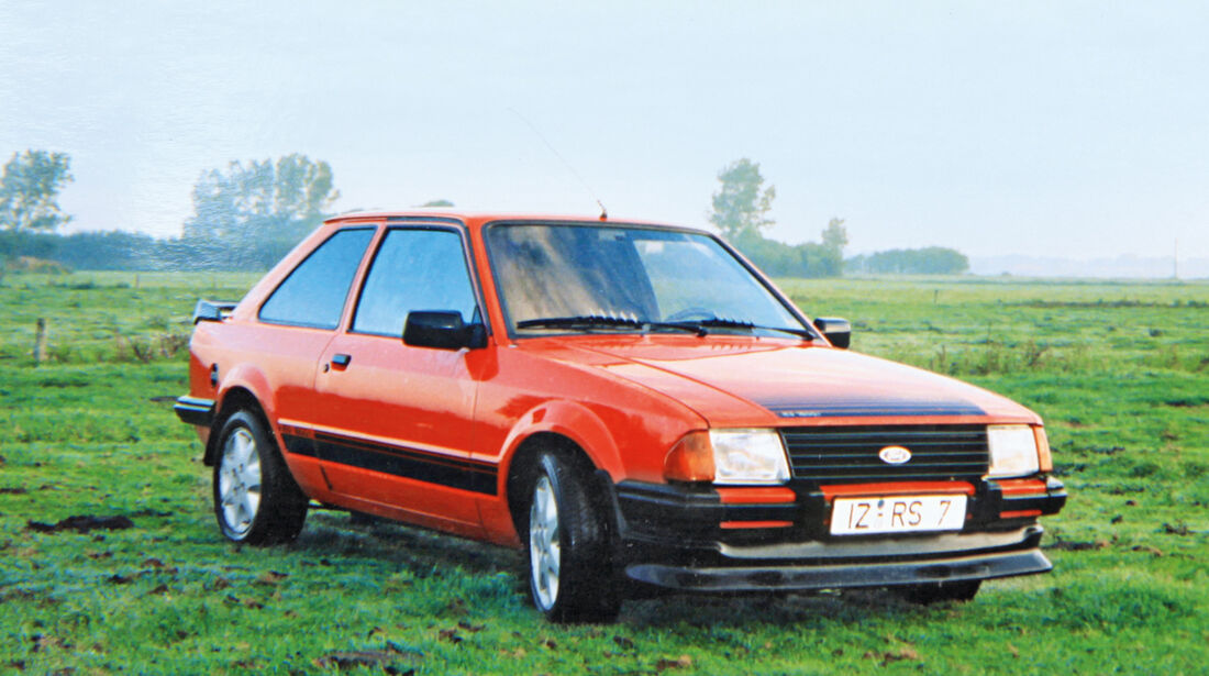 Ford Escort RS 1600i, Frontansicht