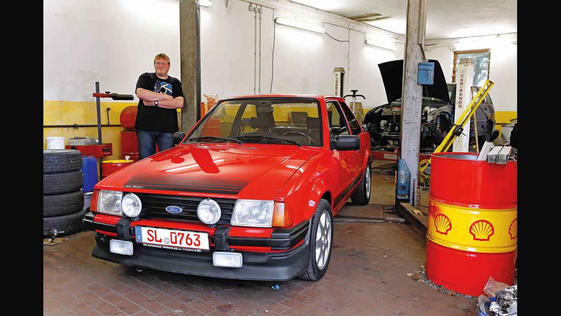 Ford Escort RS 1600i, Ingo Görrissen, Frontansicht