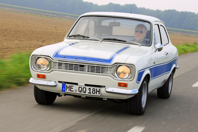 Ford Escort RS 2000, Frontansicht