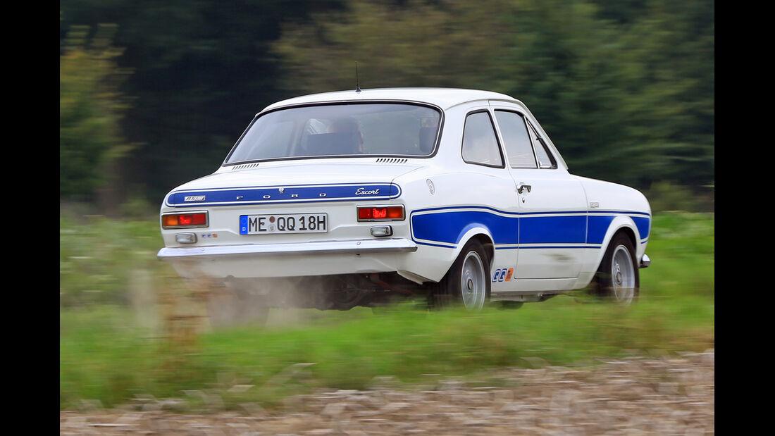 Ford Escort RS 2000, Heckansicht